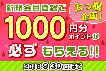 1000ポイントキャンペーン